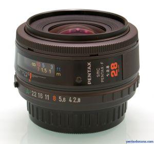 SMC Pentax-F 28mm F2.8