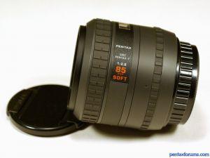 SMC Pentax-F 85mm F2.8 Soft