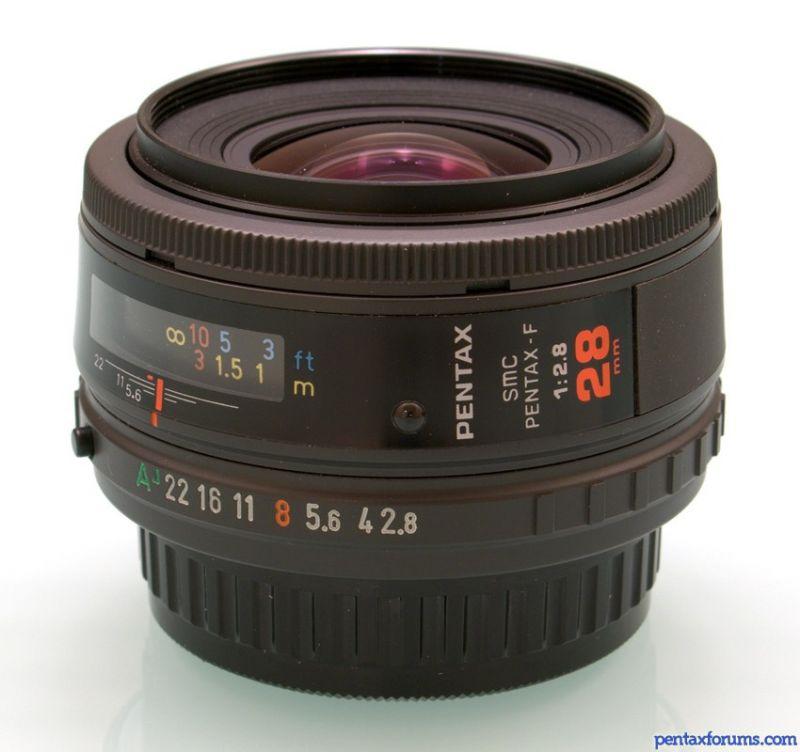SMC Pentax-F 28mm f2.8 紅標頭不專業測試