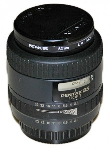SMC Pentax-FA 85mm F2.8 Soft
