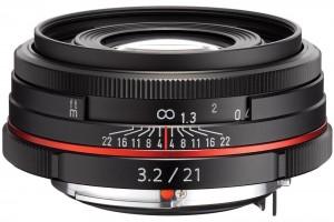 DA lens with HD coating