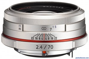 HD DA 70mm F2.4 Ltd. (Silver)