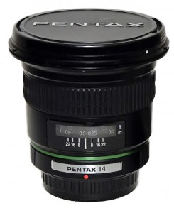SMC Pentax-DA 14mm F2.8 ED [IF]