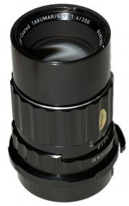S-M-C Takumar 6x7 / Super Takumar 6x7 200mm F4
