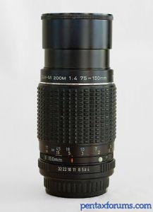 SMC Pentax-M 75-150mm F4