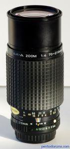 SMC Pentax-A 70-210mm F4