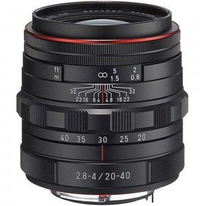 HD DA 20-40mm F2.8-4 Ltd. WR