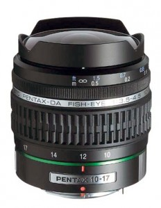 SMC Pentax-DA 10-17mm F3.5-4.5 Fish-Eye ED [IF]