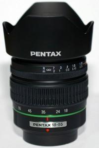 SMC Pentax-DA 18-55mm F3.5-5.6 AL