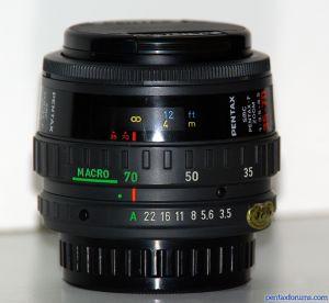SMC Pentax-F 35-70mm F3.5-4.5