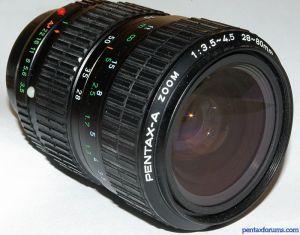 Pentax-A 28-80mm F3.5-4.5