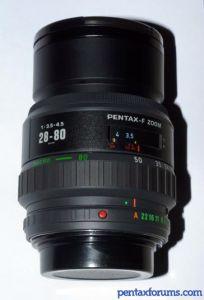 Pentax-F 28-80mm F3.5-4.5