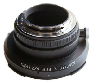 Pentax Adapter K for 6x7 Lens (6x7 to K Mount)