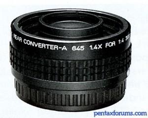 Rear Converter-A 645 1.4X