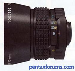 PENTAX-110 70mm F2.8