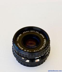 Pentax-110 24mm f/2.8