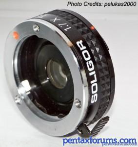 Pentax Auto 110 Soligor 1.7x teleconverter