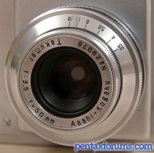 Takumar 50mm F3.5