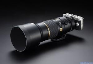 Pentax Q10 with DA* 300mm adapted