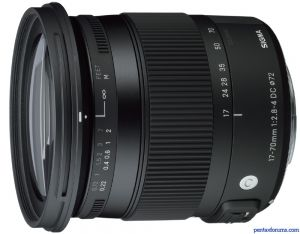 Sigma 17-70mm F2.8-4 DC Macro HSM (Contemporary)