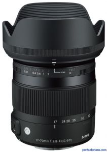 New Sigma 17-70mm F2.8-4 Announced for Pentax