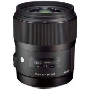 Sigma 35mm F1.4 Now Shipping for Pentax!