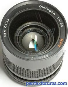 Carl Zeiss 35mm F1.4 Distagon