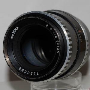 "aus JENA (Carl Zeiss) ""S"" (Sonnar) 135mm f4 (zebra)"