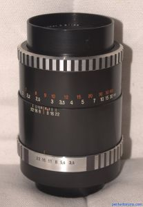 Carl Zeiss Jena 135mm F3.5 Sonnar MC - Zebra