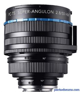 Schneider-Kreuznach 50mm F2.8 PC-TS Super-Angulon HM Tilt/Shift