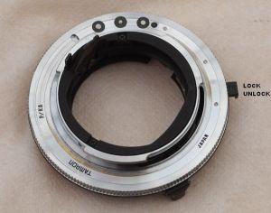 Tamron Adaptall Pentax P-KA auto aperture mount