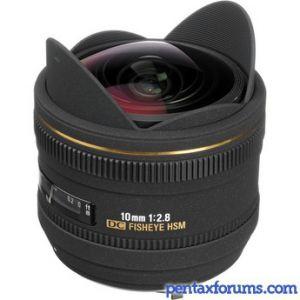 Sigma 10mm F2.8 EX DC HSM Fisheye