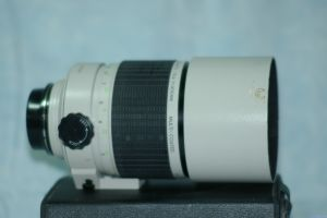 Sigma 400mm F5.6 Mirror