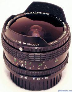 Sigma 16mm F2.8 Filtermatic Fisheye