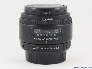 Sigma 24mm F2.8 AF Super Wide II