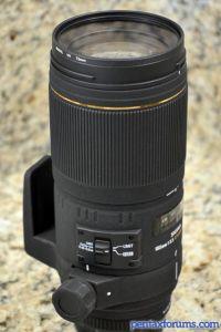Sigma 180mm F3.5 APO EX DG IF Macro