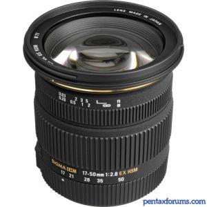 Sigma 17-50mm F2.8 EX DC HSM