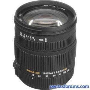 Sigma 18-125mm F3 8-5 6 DC OS HSM Lens Reviews - Sigma