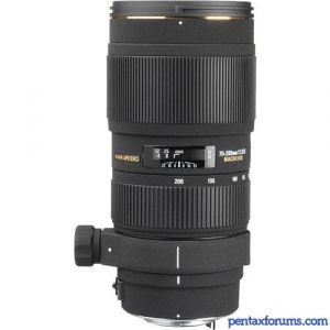 Sigma 70-200mm F2.8 EX DG APO Macro HSM II