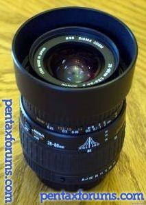 Sigma 28-80mm F3.5-5.6 II Macro