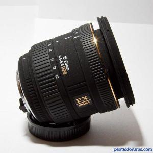 Sigma 10-20mm F4-5.6 EX DC J