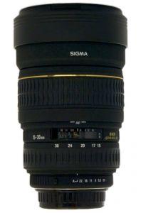 Sigma 15-30mm F3.5-4.5 EX DG