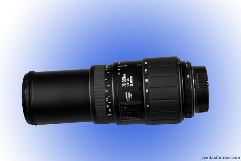 70-300mm F4-5.6 DL Macro - Pentax Lens Review Database