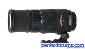 Sigma 150-500mm F5-6.3 DG HSM APO