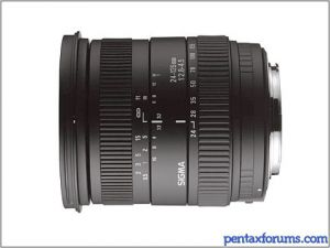 Sigma 24-135mm F2.8-4.5