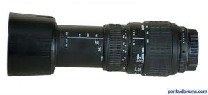 Sigma AF 70-300mm F4-5.6 DL Macro Super