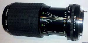 Sigma 70-210mm F4.5 Zoom - K II