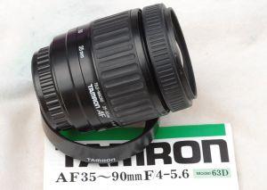 Tamron 63D AF 35-90mm f4-5.6