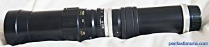 Tokyo Koki  tele-Tokina, ( Minetar, Mamiya, Prinz- Hanimex et al ) 400mm f6.3 preset
