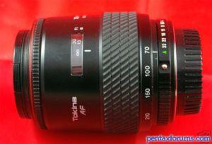 Tokina AF 70-210mm F4.0-5.6